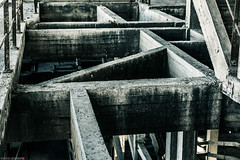 _O7A8980 (AntonyCASAFilms) Tags: urban abandoned monochrome concrete 3d factory belgium exploring plan marshall maze coal escher exploration derelict washing ue urbex