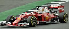 Stunning Ferrari.. (mickb6265) Tags: silverstone kimiraikkonen scuderiaferrari ferrarisf16h formulaonetestdays2016