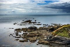 Lizard (Jae at Wits End) Tags: rock blue maritime clouds nature coastal water sky ocean color nautical marine sea