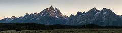 Teton Sunset Panorama (HubbleColor {Zolt}) Tags: panorama sunset grandtetonnationalpark moran wyoming unitedstates us