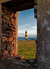 The Point (Perkvats Havatkov) Tags: stjohnspoint lighthouse light sea coast wall window derelict abandoned