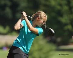 2016 Iowa Games, Jr Golf (Garagewerks) Tags: girl sport female youth club ball golf child outdoor games jr iowa course junior 2016