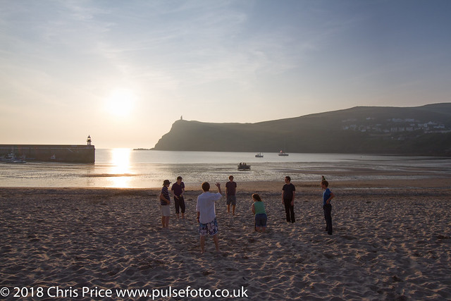 Port Erin sunset, Isle of Man