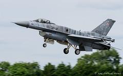 Polish Airford F-16C 4056 (DrAnthony88) Tags: conformalfueltank lockheedmartinf16c modernmilitary nikkor200400f4gvrii nikond810 polishairforce royalinternationalairtattoo aircraft airplane