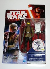 star wars the force awakens resistance trooper build a weapon space mission basic action figure hasbro 2015 mosc 2a (tjparkside) Tags: star wars force awakens basic figures resistance fighter trooper troopers rebel rebels helmet goggles pilot space mission combine accessories hasbro disney 2015 friday tfa new toy toys back pack weapon theforceawakens episode 7 seven xii build blaster action figure baw