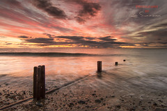 Sunrise from Seaham UK (Lee Summerson) Tags: uk sunrise canon photography p filters cokinfilter seaham cokin thenorthsea mycanon northeastengland cokinfilters eos7d tokina1116mm canonuk seahamgroynes