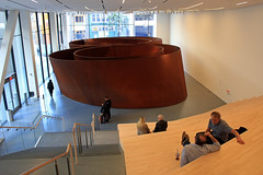 """The New Home for Richard Serra's """"Sequence"""" (JB by the Sea) Tags: sanfrancisco california sfmoma financialdistrict publicart sequence richardserra sanfranciscomuseumofmodernart june2016"""