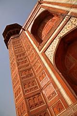 Taj Mahal 225 (David OMalley) Tags: world india heritage river site tomb taj mahal agra unesco mausoleum shah pradesh uttar jahan mughal mumtaz yamuna