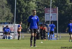 Alvaro calentando (Dawlad Ast) Tags: b espaa real soccer july asturias julio match oviedo futbol alvaro partido filial pretemporada entrenamiento 2016 portero vetusta
