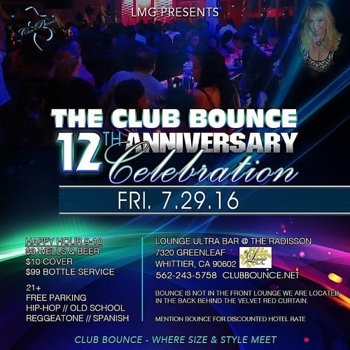 CLUB BOUNCE EVENT FRI JULY 29TH!!  7320 Greenleaf Ave in Whittier Ca! 562-243-5758 Www.clubbounce.net   #clubbounce #bbw #lisamariegarbo #plussize #curvy #bbwdating #hiphop #biggirls #biggirlclub #bbwparty #Whittier #la #oc #plussizefashion #fa #dj #curvy