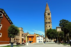 Piazza Vescovado  (  Caorle   VE ) (IVAN 63) Tags: venezia caorle piazzavescovado campaniledicaorle