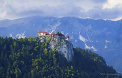DSC9134 (Elvir72) Tags: bled lake slovenia burg von castle travel mountain