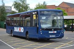 Rotala Diamond MAN 14.240 30302 SN09FUW - Kidderminster (dwb transport photos) Tags: rotala diamond man plaxton centro bus 30302 sn09fuw kidderminster