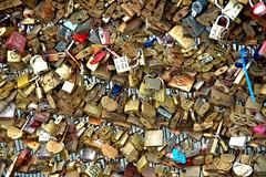 Locks of Love 2 (EmperorNorton47) Tags: museedosay paris iledefrance france photo digital autumn fall locks padlocks lovetokens lovers