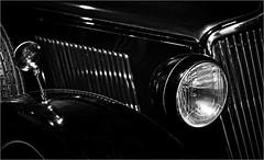 BLACK & WHITE (bert  bakker) Tags: auto car