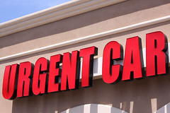 If you absolutely have to be there right now, you'd better take your (twm1340) Tags: urgent care sign clinic hospital medical
