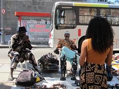 Artista de rua - Rua do Lavradio - Centro Rio