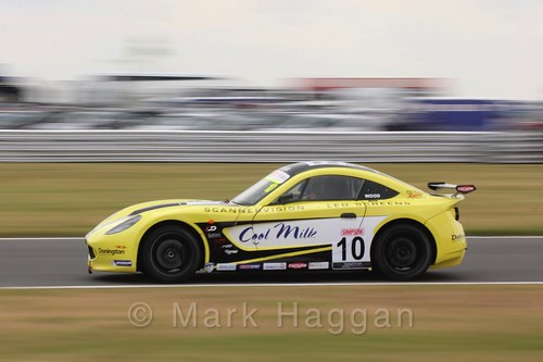 Tom Wood in Ginetta Junior Racing during the BTCC 2016 Weekend at Snetterton