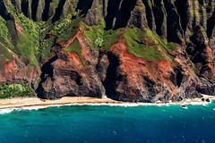 Aerial view of Na-pali coast. Here's a mesmerizing time-lapse of clouds unveiling Na-Pali coast youtu.be/T-wWKL61ivU (Sribha Jain) Tags: napali iphone6splus iphone coast hawaii kauai helicopter jackharter dooroff kalalaulookout waimea island pacific timelapse kokeestatepark aerial canon 70d
