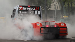 Tankpool24 Racing - Mercedes-Benz burnout (janochabel) Tags: budapest truck racetruck truckrace tro tankpool24 mercedes benz burnout etrc