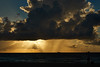 raining in the ocean (CU TEO MD) Tags: rain sun sunrise sunray boat ocean sea saltwater water clouds bird people sand sky sony a6300 soe ngc twop artofimages simplysuperb travel vacation miami florida beach explore