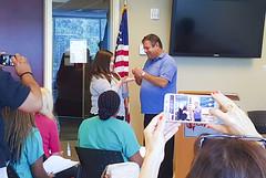Ambassador Induction Ceremony (CityCollegeORL) Tags: ambassador induction greenpolo congrats hardwork ceremony onlineclass altamontesprings orlando