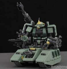 Motor King - 1-100 Zaku Tank Review 5 (MT Falldog) Tags: gundam gunpla motorking zakutank