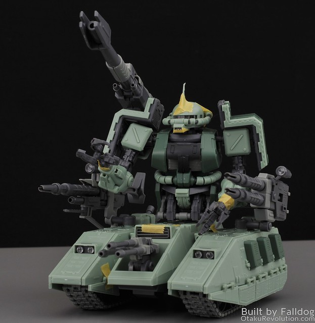 Motor King - 1-100 Zaku Tank Review 5 by Judson Weinsheimer