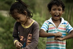 The kids from Pulau Indah (ailoon.photography) Tags: dream little field grass pretty amazing awesome inspiring life village people portrait nature land beautiful active cute girl boy kids