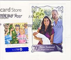 Neuseeland Juli (postcardlady1) Tags: briefmarken stamps