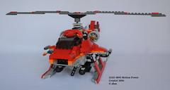 LEGO 4895 Motion Power (KatanaZ) Tags: lego4895 motionpower lego creator helicopter copter chopper