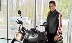 Natalia | BMW R nineT Scrambler - Lanzamiento en Chile (RiveraNotario) Tags: bmwrninetscrambler lanzamiento chile bmw bmwmotorrad motorcycle motos bikes girls chilenas