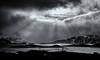 "light trough the clouds (Federico ""Jäger"" Serafini) Tags: norvegia lofoten ghiaccio rocce rocks norway aurora boreale northern light clouds nuvole sea spiaggia long exposure"