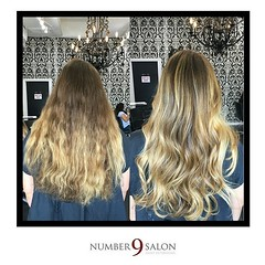 "Before & after of a beautiful balayage by stylist, Amanda B. • <a style=""font-size:0.8em;"" href=""http://www.flickr.com/photos/41394475@N04/29587206445/"" target=""_blank"">View on Flickr</a>"
