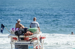 Lifeguards (misterperturbed) Tags: bethanybeach delaware