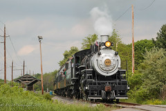 BR&W #60 @ Toad Rd (Darryl Rule's Photography) Tags: newjersey trains steam blackriver passenger steamengine openingday brw alco blackriverwestern everettrd johannaspringsrd toadrd