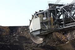 open-cast mining coal  tr_08747_result (Thomas Rossi Rassloff) Tags: deutschland energy energie mining coal brandenburg strom tagebau elektrizität braunkohle riese diese vattenfall germane welzow welzow–süd