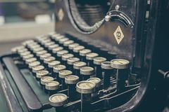 Vintage Russian Typewriter (Image Catalog) Tags: black typewriter keys technology letters typing publicdomain