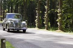 Netherlands - Rotary Classic Car Rally 2015 - Daimler Conquest Coupe - 1957 (PhotompNL) Tags: classic car canon rally nederland voiture vehicle oldtimer hilversum vumc classiccars rotary bussum daimler rccr zonnestraal vtran vetern landgoed  sigmalenses   5dmkii landgoedzonnestraal