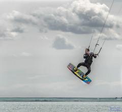 Getting Air (Photo Kubitza) Tags: lake canada water sport alberta surfboard windsurfing harness parachute barons airbourne lakekeho