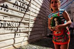 Lisboa_201521410 (t3mujin) Tags: street city summer people portugal girl alley europe image lisboa lisbon decoration narrow alfama santoantnio