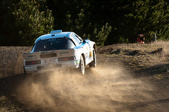 Mazda RX7 (robktkate) Tags: newzealand car speed nikon rally racing dirt gravel motorsport d5000 nikond5000 2015rallyofcanterbury