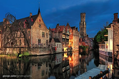 Bruges (geopalstudio) Tags: belgium bruges hdr masking luminosity nikond7000 promoteremotecontrol