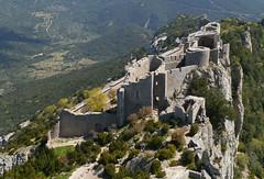 Chateau de Peyrepertuse (Niall Corbet) Tags: france languedoc roussillon aude peyrepertuse chateaudepeyrepertuse chateau castle fort fortress cathar hilltop explore