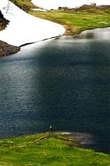 Lago Verney (AO) (_Kry_) Tags: green lake glacier fishing colourful highaltitude