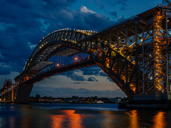 Bayonne Bridge Showing Construction, Bayonne NJ (frperdurabo) Tags: