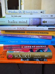 Haiku (Patreesh*) Tags: poetry personalcollection haiku books