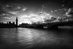 Last Light (Tracey Whitefoot) Tags: houses light summer white black london monochrome westminster thames last river mono long exposure capital parliament tracey 2016 whitefoot