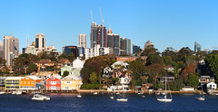 Balmain waterfront with Sydney City in the background (Edmund Vance) Tags: olympusem5 panasonic1442ii