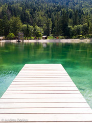 Jesenice lake (Andrea_dorigo) Tags: kranjskagora jesenice slovenia si artificial lake